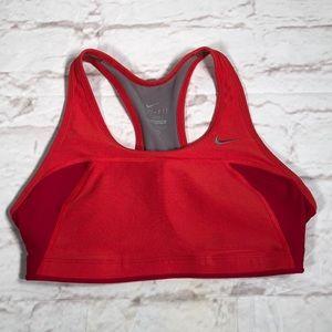 Nike Dri-Fit Bra.  Size Small. Red